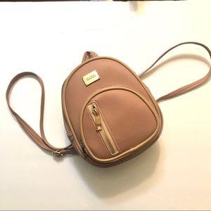 Zara Small Backpack/ Crossbody Bag Beige